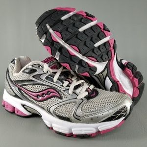 fe0bb11ee77e Saucony Grid Stratos 5 Womens Running Shoes 6 Pink